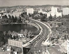 Mac Arthur Park in the 30s, looking west!  Cross streets  Wilshire & Alvarado