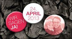 WeddingEve by Hüfner Design |  Design: Basic Dot |  Save the Date Karte, Einladungskarte, Menükarte, Tischkarte, Danksagungskarte, Buttons
