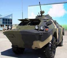 Russian modernized BRDM-2 Combat Reconnaissance/Patrol Vehicle