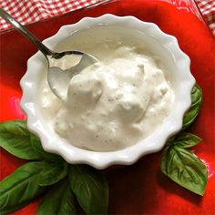 """Bill's Blue Cheese Dressing 