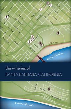 Santa Barbara Wine #wineries #winetrail #winetrailadventures