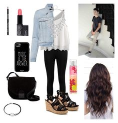 Date with Daniel Skye by ganderson1127 on Polyvore featuring polyvore J Brand Boohoo Loeffler Randall Alex and Ani Casetify fashion style clothing