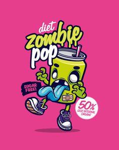 Diet Zombie Pop by cronobreaker.deviantart.com on @deviantART