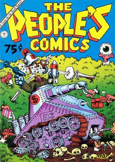 The People's Comics by Robert Crumb (underground comics)