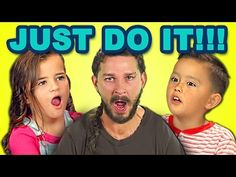 KIDS REACT TO JUST DO IT (Shia LaBeouf Motivational Speech) - YouTube