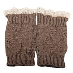 Womens Knitted Hollow Crochet Lace Tr…