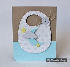 Star Background, Baby's Bib Die-namics, Sun Moon & Stars Die-namics, Starry Night Stencil - Amy Rohl #mftstamps