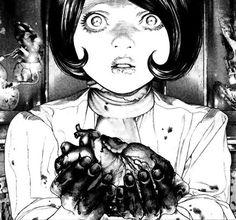 SKULLGRIND Comic Layout, Dark Drawings, Ap Studio Art, Art Folder, Manga Artist, Glitch Art, Manga Pages, Art For Art Sake, Horror Art