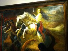 """The White Horse of St. Catherine"" by Romulo Galicano"