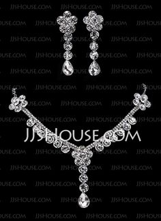Jewelry - $23.69 - Jewelry Sets Anniversary Wedding Engagement Birthday Gift Party Alloy With Rhinestones White Jewelry With Rhinestone (011018470) http://jjshouse.com/Jewelry-Sets-Anniversary-Wedding-Engagement-Birthday-Gift-Party-Alloy-With-Rhinestones-White-Jewelry-With-Rhinestone-011018470-g18471