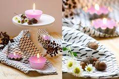 DIY: Selbstgemachte Muffin-Kerzen