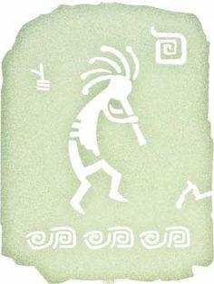 Tribal Musician Laser Cut Metal Wall Hanging