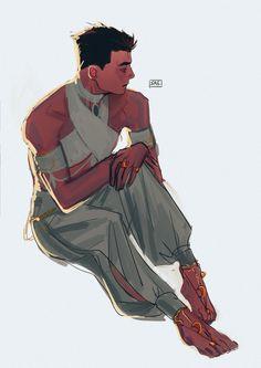 Damian Wayne, Dnd Characters, Fantasy Characters, Fantasy Books, Fantasy Art, Character Concept, Character Art, Hq Marvel, Bat Boys