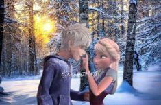 Elsa nips at Jack's nose