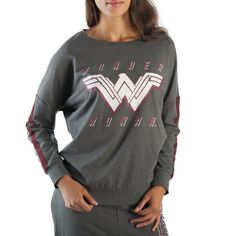 2bc99b066 Wonder Woman Gray Sweatshirt for the special Big Hearted one and only Texas  girl