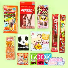 ✩ OH SO SWEET! ✩Here is an example what was included in a previous Japan Candy Box! Our favorites were the Pucca Filled Biscuits. Which one would you like to try? 。◕‿◕。 Subscribe here to get your own Japan Candy Box ► http://www.japancandybox.com
