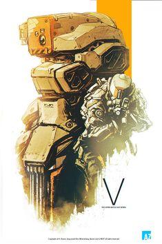 The futuristic hyper battle suit, Jang wook Kim on ArtStation at https://www.artstation.com/artwork/the-futuristic-hyper-battle-suit