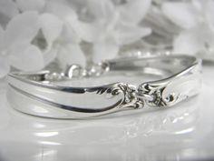 Spoon, joyería Spoon, Platería pulsera, Platería Joyería, damas de honor de la pulsera, del boda del Victorian - 1961 de la alegría