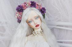 Berry Drops flower crown handmade headband headdress headwear