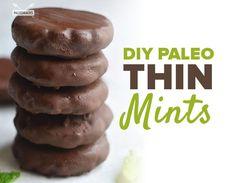 DIY Paleo Thin Mints