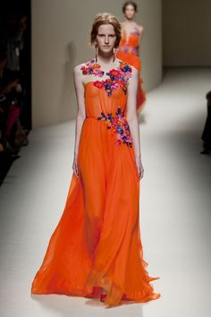 Alberta Ferretti // FFW FASHION BRFORWARD