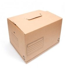 CAJA CARTÓN FONDO AUTOMÁTICO La caja de cartón con fondo automático se monta en un abrir y cerrar de ojos y sirve para guardar de todo: libros, revistas, objetos, ... #MWMaterialsWorld #cajacartón #cajacartónautomática #cardboardbox #readytogocardboardbox Material World, Storing Books, Carton Box, Packaging, Journals