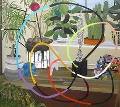 David Hockney (I think this is Paul Wackers) Plant Illustration, Art Painting, David Hockney, Flower Art, Painting, Illustration Art, Pop Art Movement, Art Movement, Abstract