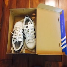 Adidas Originals Superstar Leather Sneakers White/Black Women's Size 5  | eBay