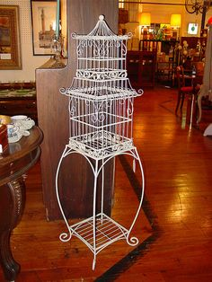 Antique Birdcage by atlpropguy, via Flickr