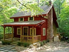 I would love a place like this in the mountains to relax and work. But, I would like it to be larger so all my kids can come visit.