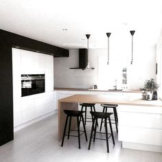 40 ideas for comfortable and modern kitchen design Page 11 of 41 # Kitchen furniture # ideas - - Kitchen On A Budget, Home Decor Kitchen, Kitchen Furniture, Kitchen Interior, Home Kitchens, Furniture Ideas, Living Room Interior, Interior Design Living Room, Küchen Design
