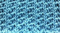 How To Knit The Supple Rib Stitch
