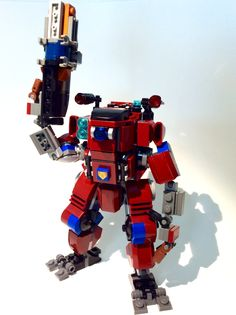 Lego Titanfall 2. Monarch titan.