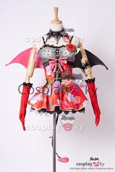 Love Live! New UR Nazomi Tojo Little Demon Transformed Uniform Halloween Cosplay…