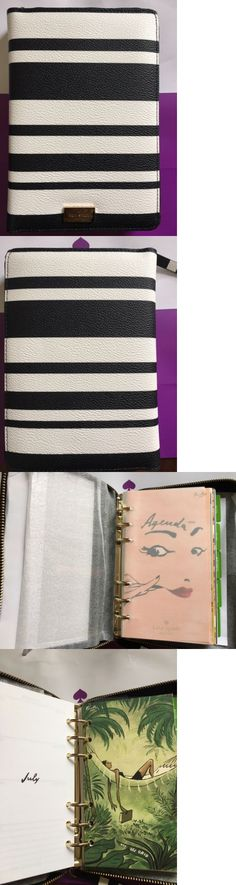 Organizers and Day Planners 15735: Nwt Kate Spade Arbour Hill Bonbon Stripes Personal Organizer Agenda Planner 2017 -> BUY IT NOW ONLY: $79.99 on eBay!