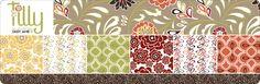 Daisy Jane Tilly:  100% GOTS Certified organic cotton fabric.  MSRP $14.50/yard