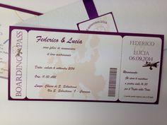 Marta Paper Design: Biglietti aerei per un viaggio d'amore!