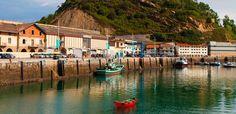 Getaria - Puertos de pesca del cantabrico - España Fascinante