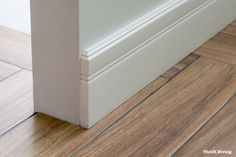 How to Install Baseboard Yourself: A Step-by-Step Guide Luxury Homes Interior, Home Interior Design, Interior Ideas, Base Shoe Molding, Moulding, Cleaning Car Windows, How To Install Baseboards, Wood Baseboard, Interior Door Trim