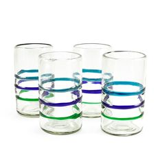 Baja Recycled Pint Glass - Set of 4