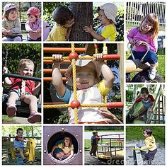 Photo about A collage about playground theme - girls and boys playing in a park. Image of climb, blond, boys - 15472938 Boys Playing, Social Media Content, Teamwork, Early Childhood, Leadership, Children Playground, Royalty Free Stock Photos, Collage, Education