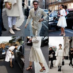 If You're Thinking About….Winter White « The Sartorialist