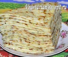 Хычины с картошкой и сыром (фото)