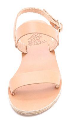 Ancient Greek sandals.