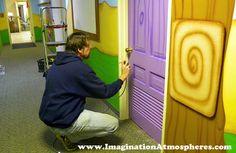 children's church rooms | Fun Murals for Children's Church, Nursery, Kids Rooms, Large Walls