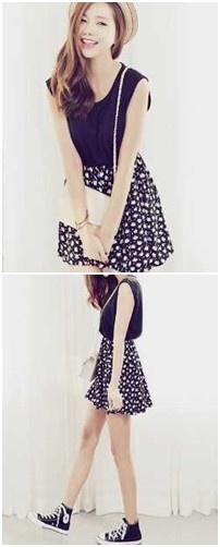 Simple but cute look