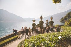 Balbianello boat dock. Location from The Lake Como Wedding Planner #lakecomo #wedding #weddingplanner