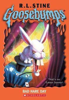 Goosebumbs books, everyone had/read them!