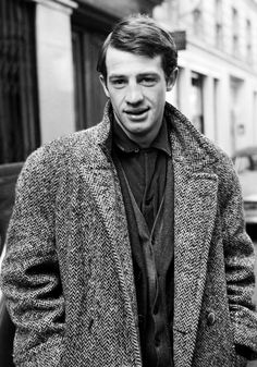 French actor Jean Paul Belmondo is gorgeous without cigarette dangling from his mouth
