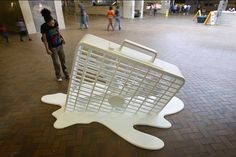 Atlanta Marta station/Where art lives apparently/by Ted Freeman and Tops South/Via laughingsquid.com
